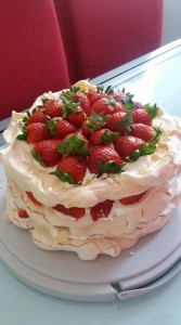 Tort bezowy Sylwii, fot. Daniel Pogorzelski